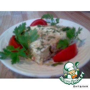 Рецепт: Запеканка из картофеля и крабовых палочек