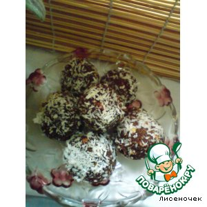 Рецепт: Шоколадные раффаэлки
