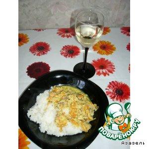 Рецепт: Рис с морскими гадами