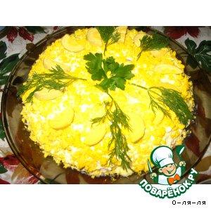 Рецепт: Салат Одуванчик