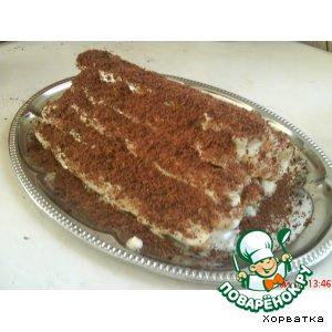 Рецепт: Торт Монастырская изба