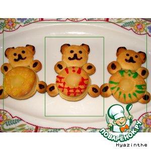 Рецепт: Печенье Три медведя и Ко