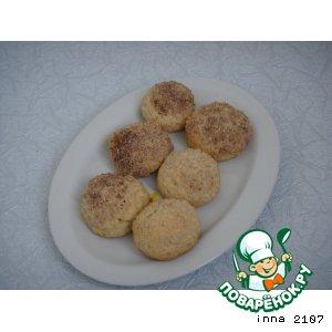 Рецепт: Печенье с имбирем и орехами