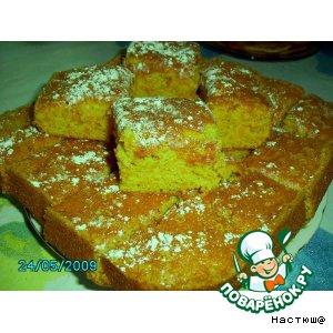 Рецепт: Морковный пирог