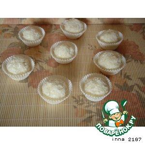 Рецепт: Творожный десерт Рафаэлло