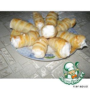 """Пирожное """"Трубочка"""""""