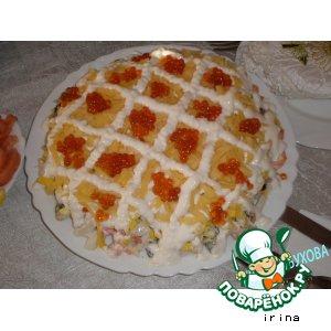 Рецепт: Салат Царский