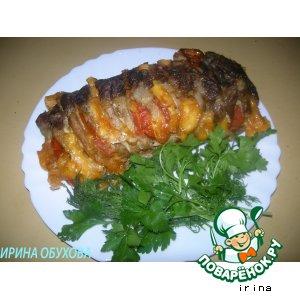 Рецепт: Свинина-гармошка