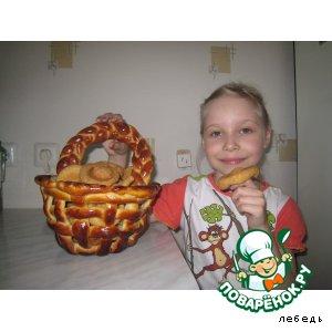 Рецепт: Печенье Забияки-рыжики
