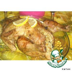 "Рецепт: Фаршированная курица ""Шалунья"""
