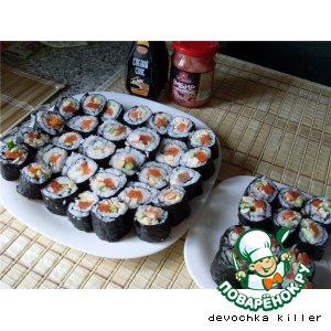 Рецепт: Суши-роллы