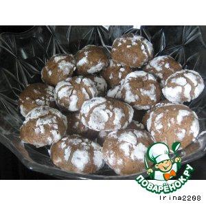 Рецепт: Шоколадное печенье Премия
