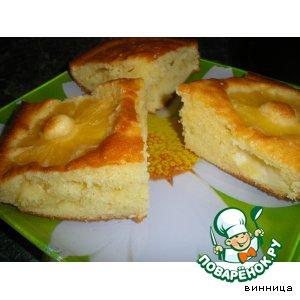 Рецепт: Ананасовый пирог
