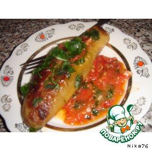 Рецепт: Сырдаг из баклажанов-2