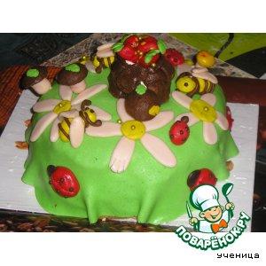 Рецепт: Тортик И снова лето