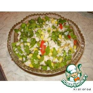 Рецепт: Салат с мясом криля