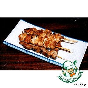 Рецепт: Курица якитори