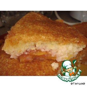Рецепт: Персиковый пудинг