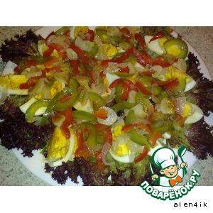 Рецепт: Яйца по-тайски (2 варианта)