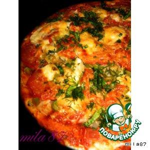 Рецепт: Пицца в китайском стиле