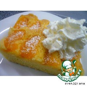 Рецепт: Фруктовый пирог на семи яйцах