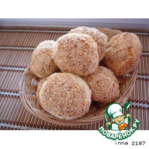 Рецепт: Турецкие булочки с брынзой