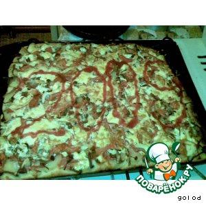 Рецепт: Пицца не итальянская