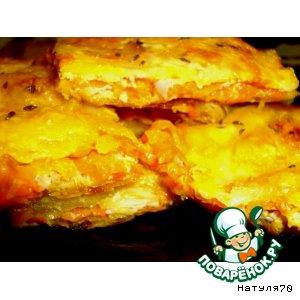 Рецепт: Пирог Солнечный