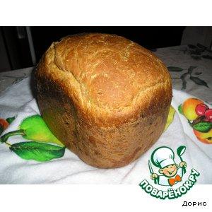 Рецепт: Каротиновый  хлеб