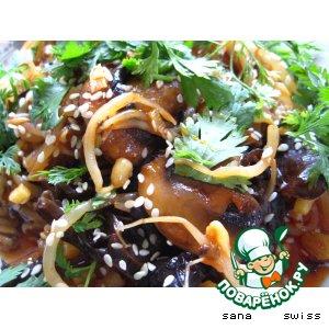 Рецепт: Овощной гарнир по-китайски