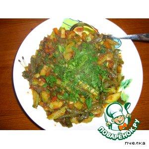 Рецепт: Рагу из кабачков