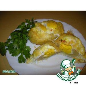 "Рецепт: Яйца ""Пармантье"""