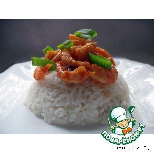 Рецепт: Креветки по-сычуаньски