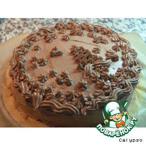 Рецепт: Парижский кондитерский шоколадный крем