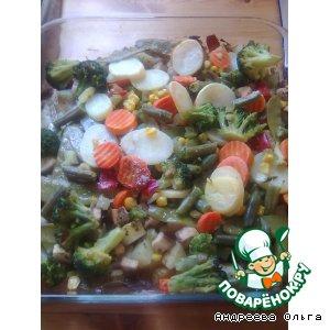 Рецепт: Запеченые овощи по- английски