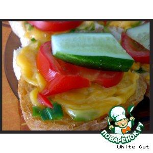 """Рецепт: Бутербродик """"Нежный"""""""