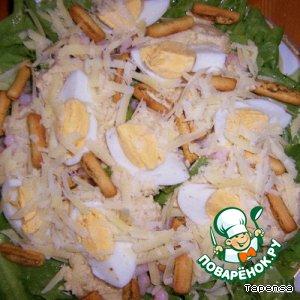 Рецепт: Мой салат для Цезаря