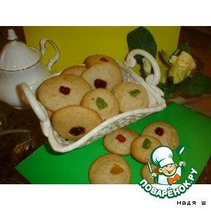 Рецепт: Печенюшки ореховые