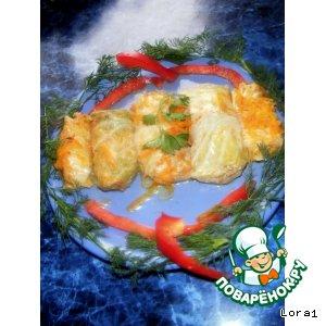 Рецепт: Голубцы из пекинской капусты