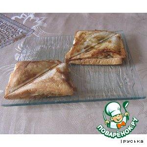 Рецепт: Сэндвичи с шампиньонами