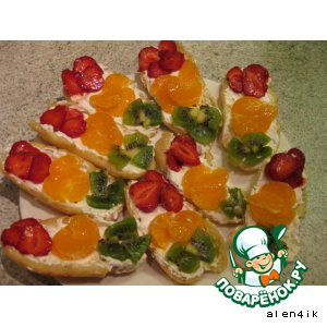 Десерт Светофорчики