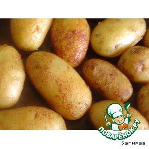 """Рецепт: Картофель в панировке """"ароматика"""""""