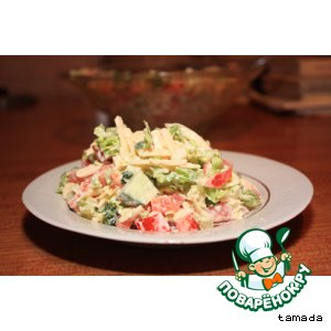 Рецепт: Салат с сыром