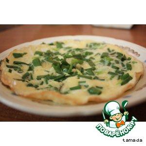 Рецепт: Зеленая яичница