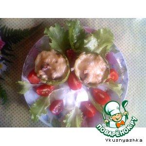 Рецепт: Фаршированные кабачки