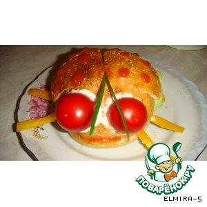 Рецепт: Жук-бургер