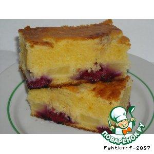 Рецепт: Пирог Бабушкин перевертыш