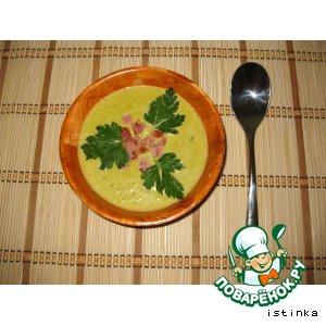 Рецепт: Суп-пюре с кукурузой