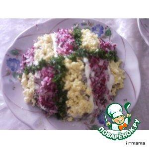 Рецепт: Ирусин салатик