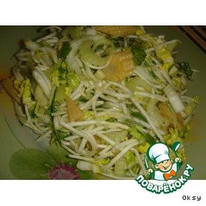 Рецепт: Салат из двух видов сельдерея